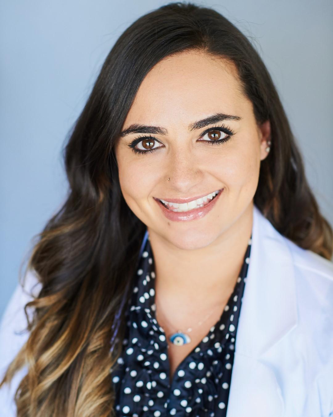 a headshot of Dr. Sara Nikfar